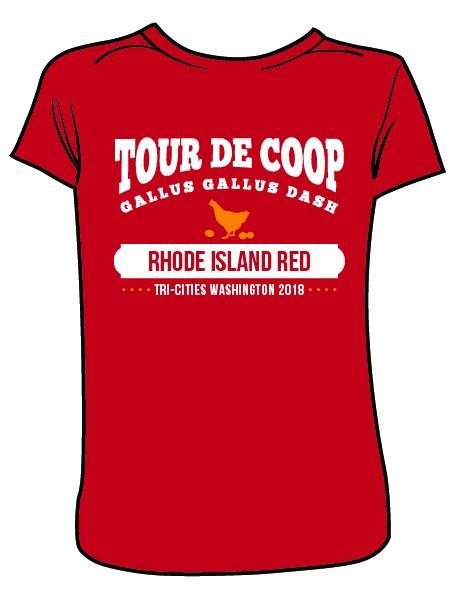 Tour de Coup Tshirt