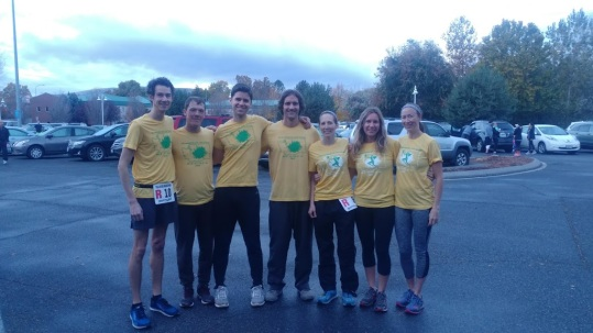 Tri City Relay Team Before Race