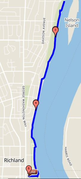 Columbia Upriver 5 Mile