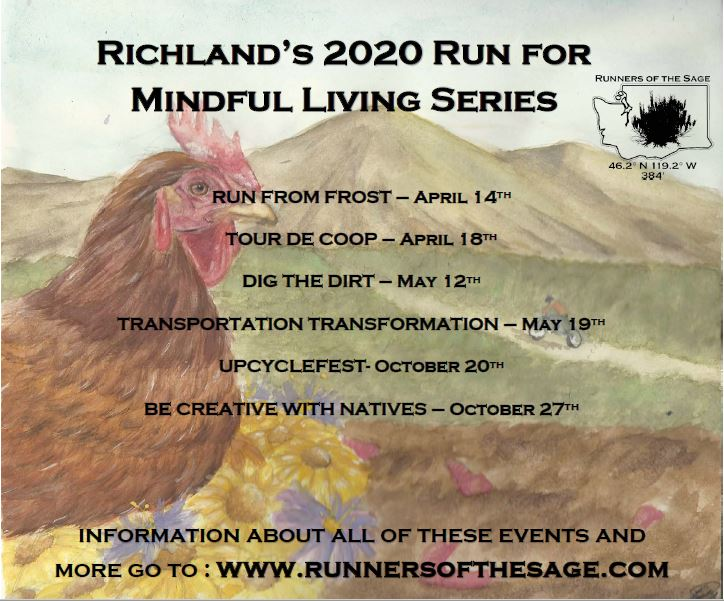 Poster Richland Run For Mindful Living