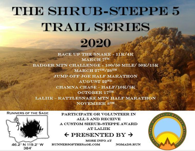 Shrub Steppe 5 Trail Series Pic 2020