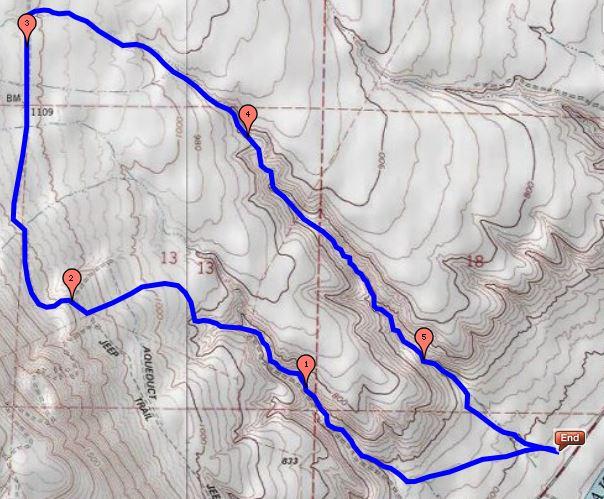 Rav to Rav 5.6 Mile Route
