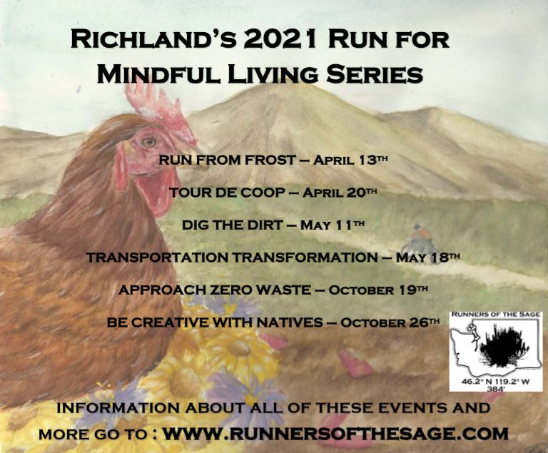 Run For Mindful Living Series 2021 Pic Flier